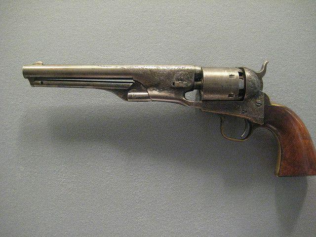 Colt Model 1861 Navy Percussion Revolver | Flickr - Photo Sharing!