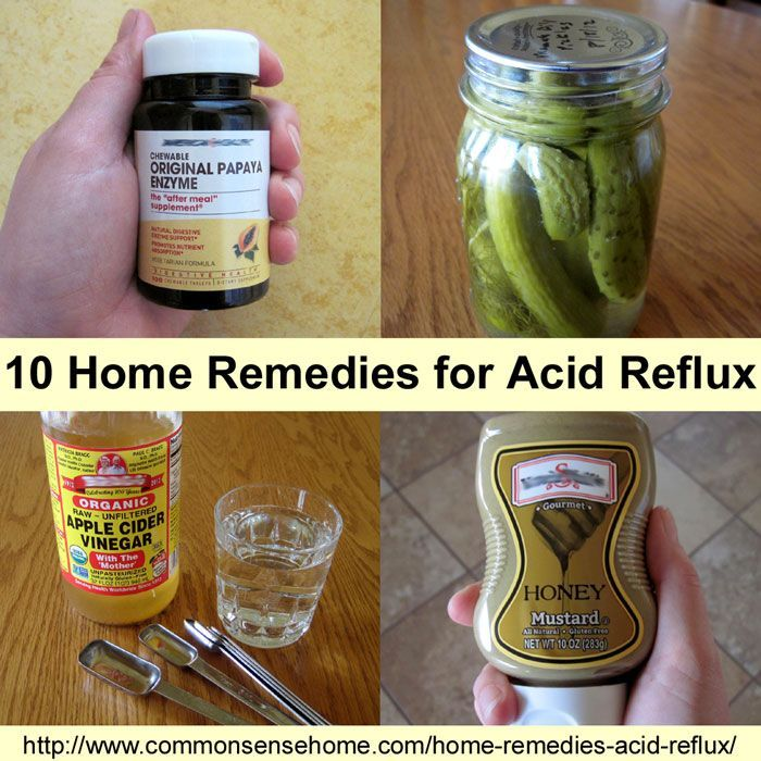 10 Home Remedies For Acid Reflux