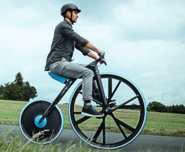Electric velocipede adds tech touches to olde-tyme bike via @CNET