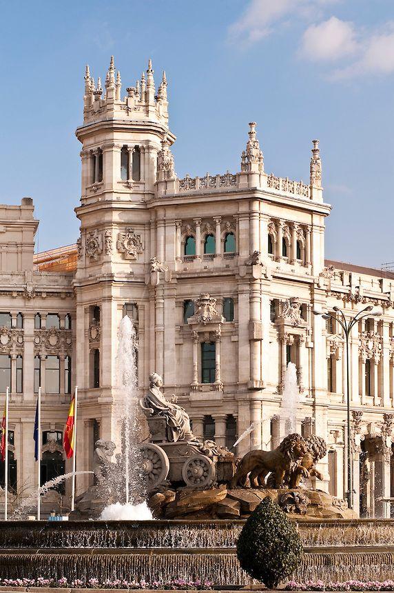 Plaza de Cibeles, Madrid, España. (LAG).
