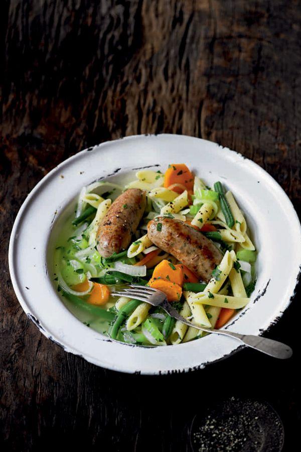 Koken met worst: Italiaanse soep  | ELLE Eten