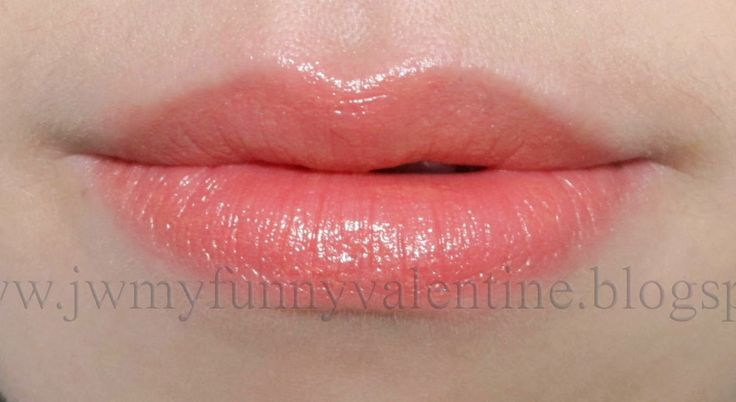 Revlon Colorburst Lipstick In Peach Lip Swatch  Peach -7686
