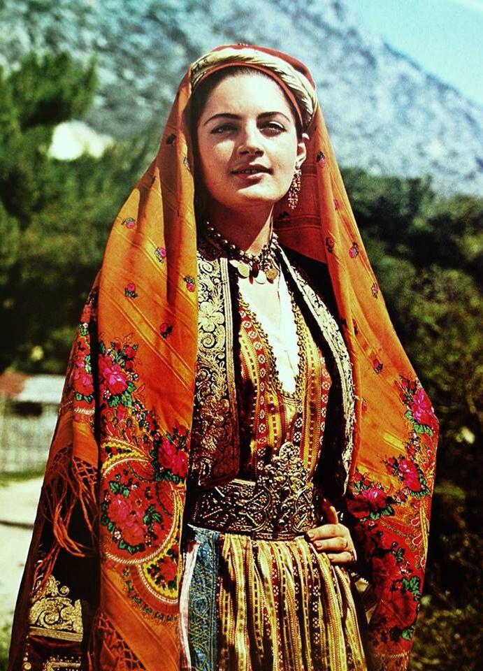 Φορεσιά Θάσου. Συλλογή Λυκείου Ελληνίδων