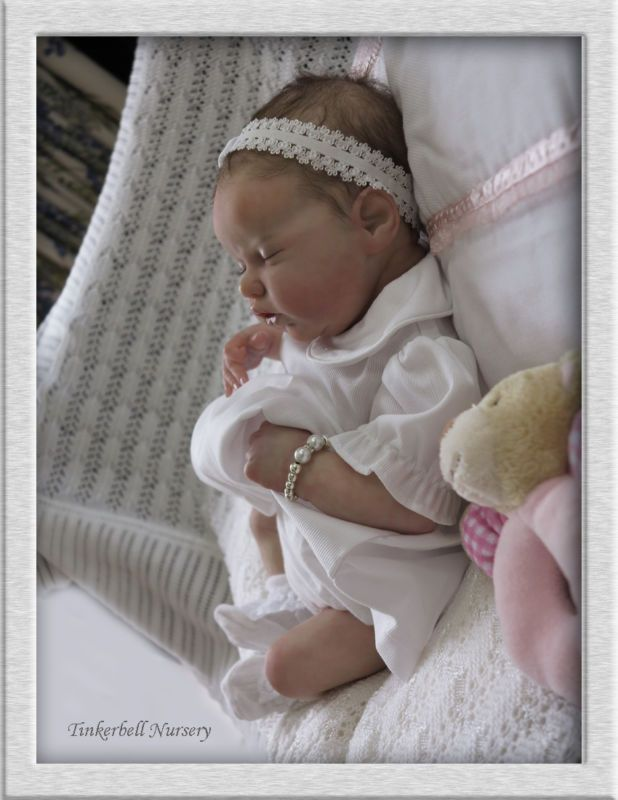 TINKERBELL NURSERY Helen Jalland reborn baby girl doll Laura Lee Eagles Sculpt!