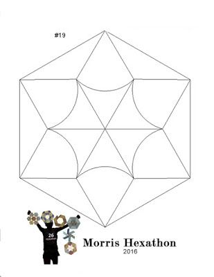 Barbara Brackman's  MATERIAL CULTURE: Morris Hexathon 19: Woodford Green