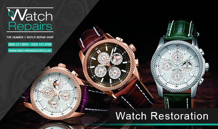 Watch Restoration   Here at Watch Repair Shop our professional horological masters are fully trained. We offers Watch Restoration Serv...