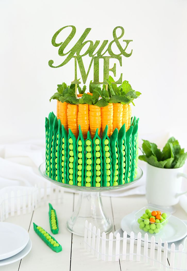 Peas and Carrots Cake | Sprinkle Bakes