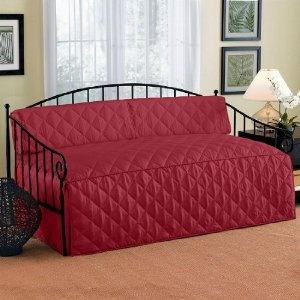 Brylanehome Quilted Daybed Cover 74 Lx36 W Red 0