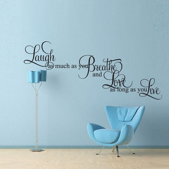 Aerosmith Breathing Quote Vinyl Wall Art Sticker Decal: 113 Best Images About Live Laugh Love On Pinterest