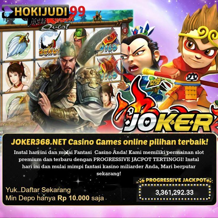 Casino Games online pilihan terbaik! Instal