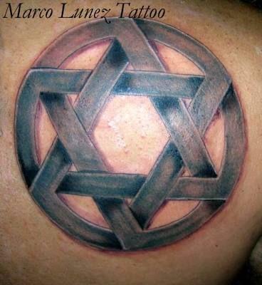 Resultado de imagem para star of david tattoo