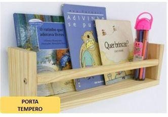 porta livro para crianças