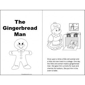 1000 ideas about Gingerbread Man Coloring Page on