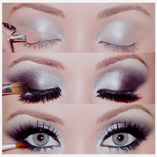 Perfect eye make up for prom, homecoming, graduation, weddings...