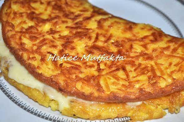 Patatesli Sandviç Omlet Tarifi | Yemek Tarifleri Sitesi - Oktay Usta - Harika ve Nefis Yemek Tarifleri