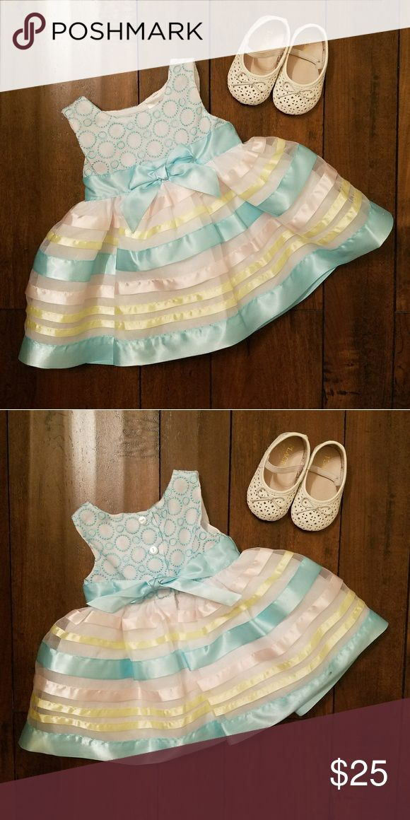 💙❤️💙 Baby Girl Formal Dress 0-3 Baby girl special occasion dress. Dresses Formal
