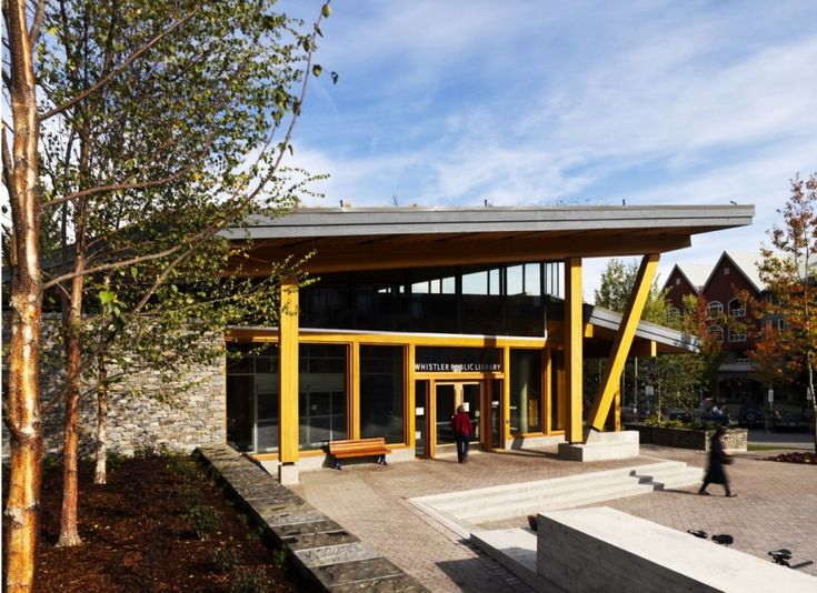 Great Whistler Public Library Design By Hughes Condon Marler Architects    Architecture U0026 Interior Design Ideas And Amazing Pictures