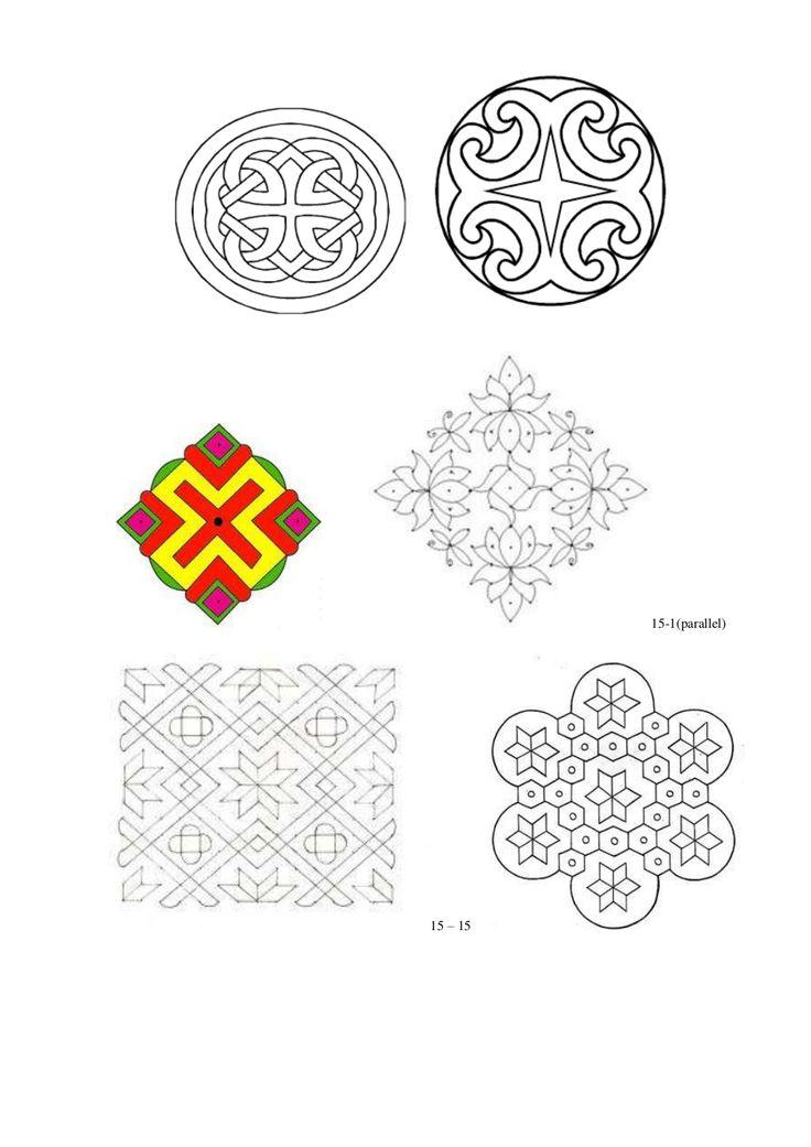 Rangoli designs by mituntony via slideshare