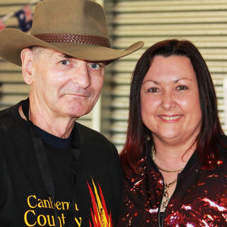 Mike Crosier & Shaza Leigh at the 2014 CANBERRA COUNTRY, BLUES & ROOTS FESTIVAL http://www.canberracountry.com #shazaleigh