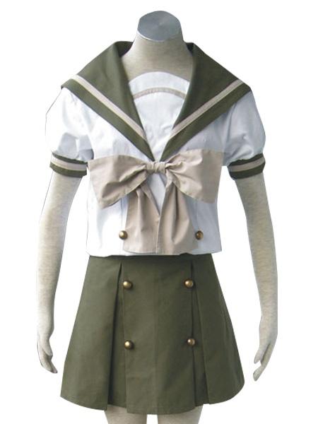 Shakugan No Shana Short Sleeves School Uniform Cosplay Costume
