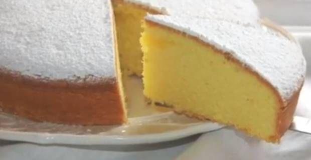 Ricetta della Torta paradiso con lievito e burro