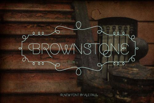 Brownstone by Alejandro Paul: Desktop Fonts, Brownstone Typography, Brownstone San, Alejandro Paul, Typography Fonts, Ales Paul, Graphics Design, Brownstone Fonts, San Fonts
