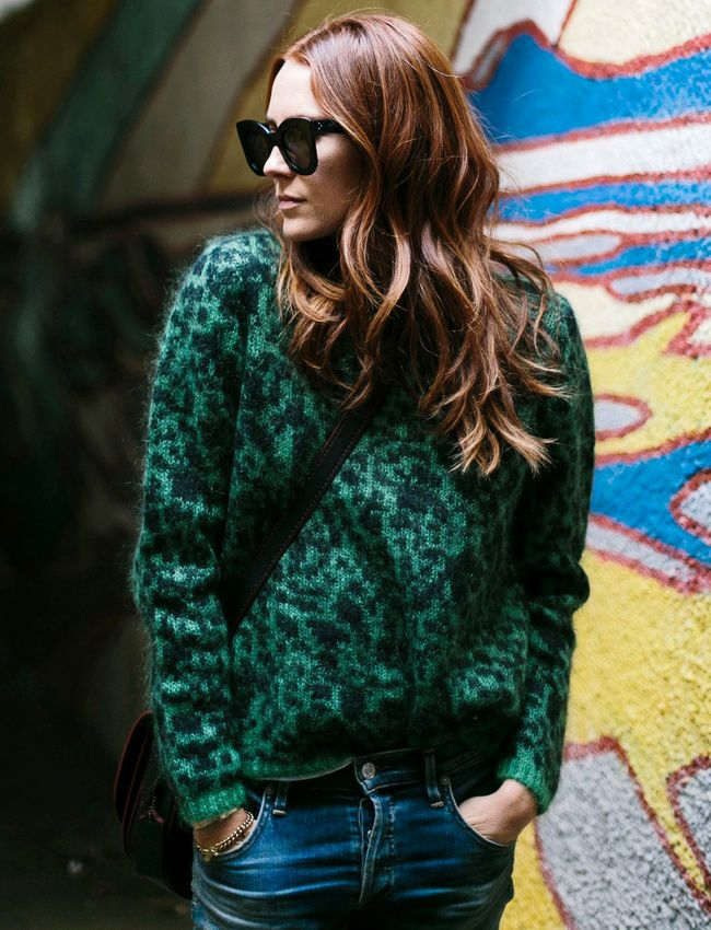 Entre coloris camouflage et imprimé léopard, ce pull-over a tout bon ! (photo…