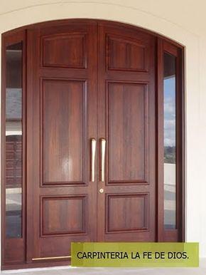 17 best ideas about puertas principales on pinterest - Puertas entrada principal ...