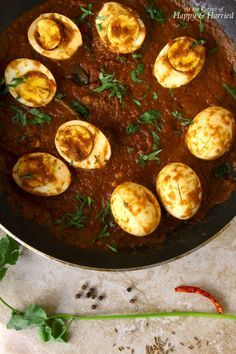 Egg Vindaloo (Spicy Goan Curry)