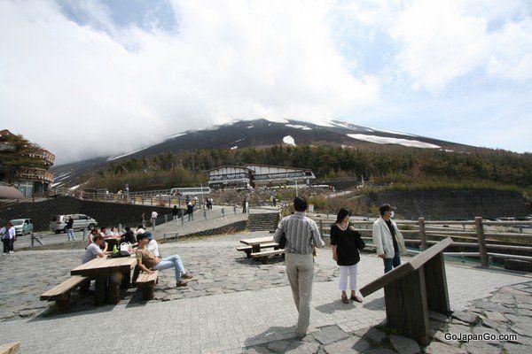 Mt Fuji 5th Station (Kawaguchiko) Yamanashi