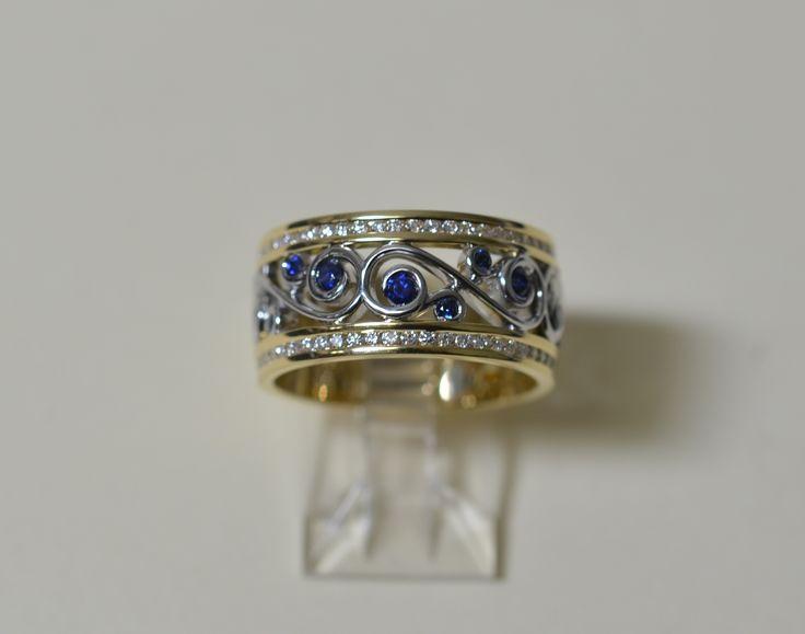 Sapphires & Diamonds always a perfect match