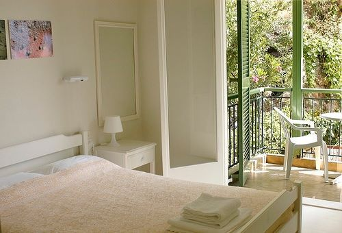 Feeling comfortable at Melina's Rooms, Lefkada