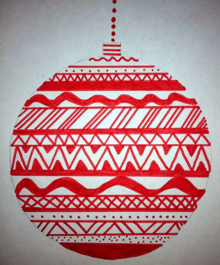 "Art: Expression of Imagination: ""Line Design Ornaments"""