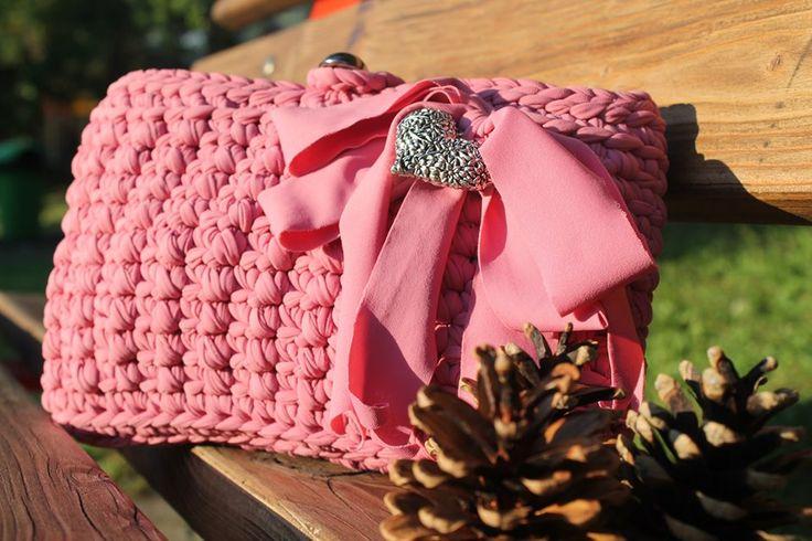 Borsa colore rosa antico