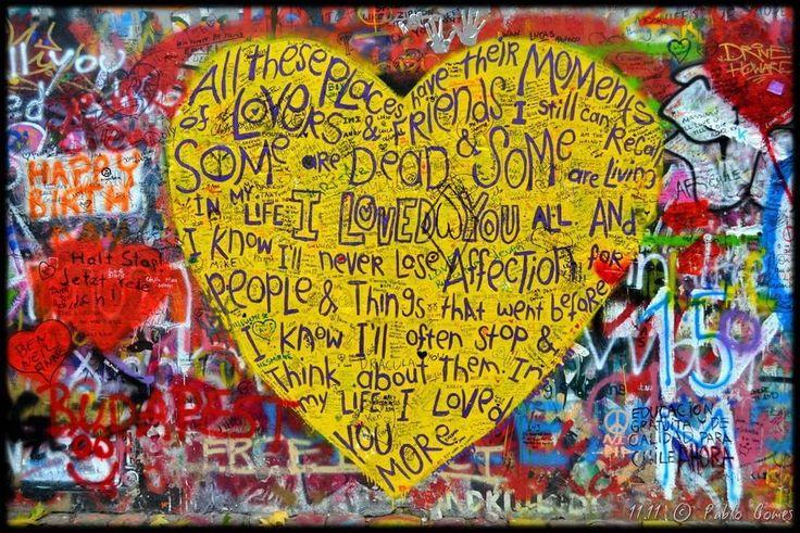 Mural John Lennon / John Lennon Wall [2011 - Praga / Prague - República Checa / Czech Republic] #fotografia #fotografias #photography #foto #fotos #photo #photos #local #locais #locals #cidade #cidades #ciudad #ciudades #city #cities #europa #europe #fotografia #photography #photo #street #streetart #graffiti #grafittis #grafito #grafitos @theartofwall