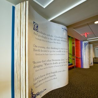 Interior of Kansas City Public Library -- I must visit this city just to view this library for myself!