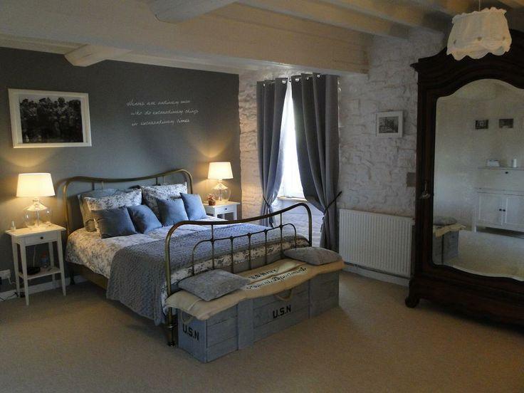 Image Chambre Rouge Et Noir :  thème Chambres Dhôte sur Pinterest  Suite Master, Chambres et Lits