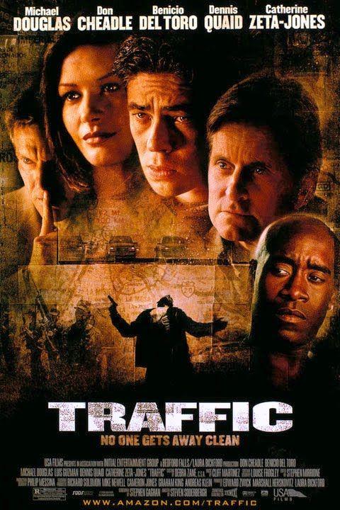 Traffic est un film américain réalisé par Steven Soderbergh, sorti en 2001,