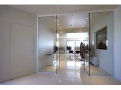Wall with opening door Wall with opening door - Sistemi RasoParete®