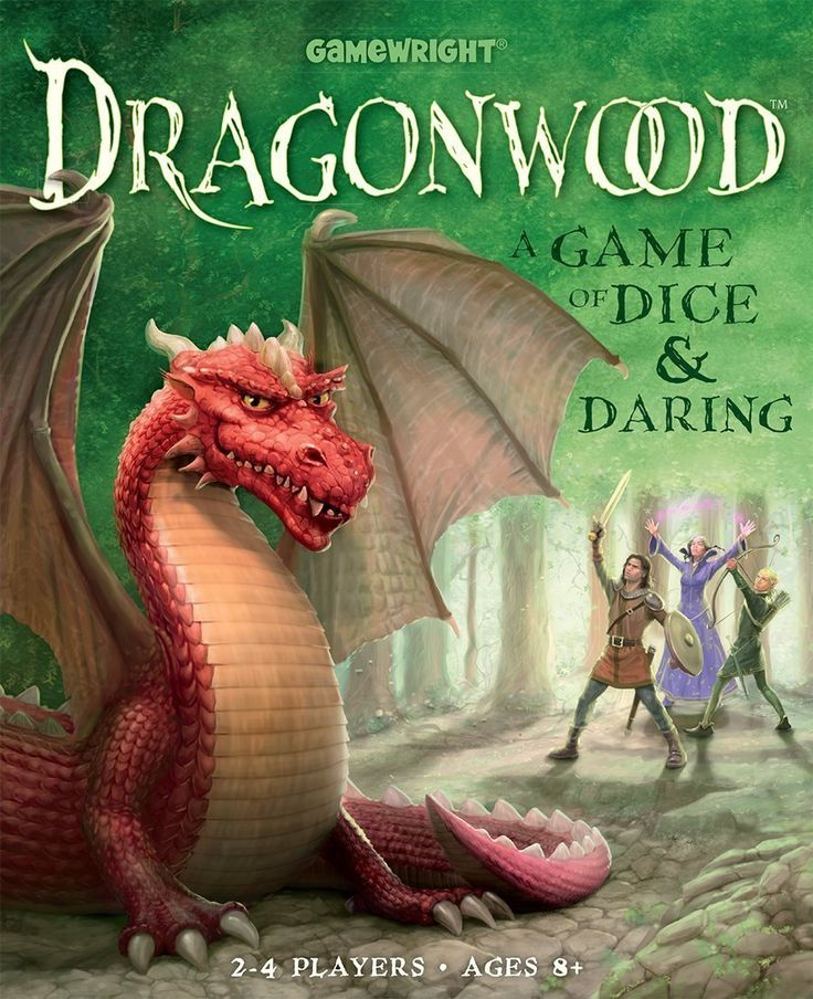 Dragonwood A Game of Dice & Daring Board Game Dice games