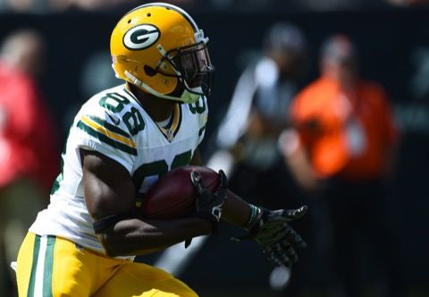 Ty Montgomery Still Isn't Running -- There's still a ways to go for Green Bay Packers receiver Ty Montgomery. Although he's out of the walking boot, he still isn't doing any running.