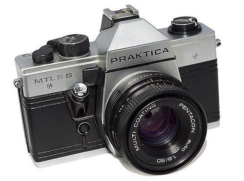 Praktica MTL 5B - My First SLR #Praktika #Film #Camera #SLR #Photography