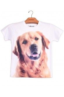 Comprar Camiseta Infantil Unissex Golden Retriever