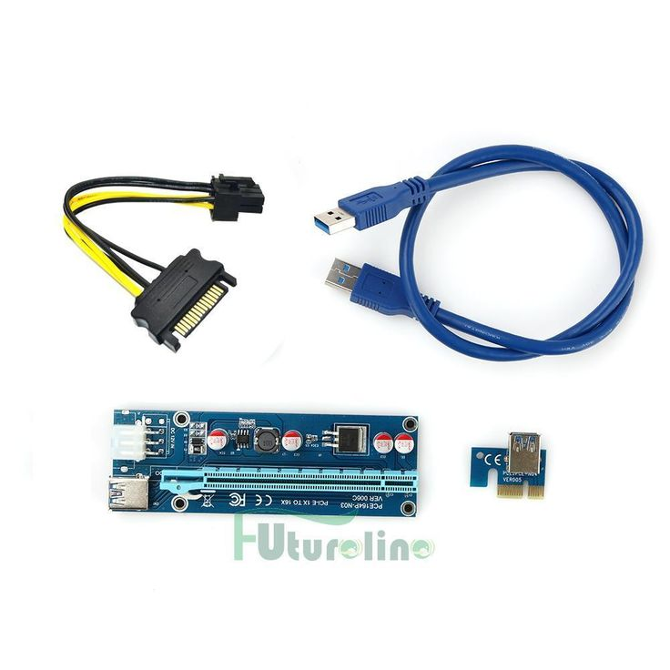 #New post #USB3.0 PCI-E Express 1x to 16x Extender Riser Card Adapter SATA 6Pin Power Cable  http://i.ebayimg.com/images/g/TOEAAOSwHMJYKnbf/s-l1600.jpg      Item specifics     Condition:        New: A brand-new, unused, unopened, undamaged item in its original packaging (where packaging is    ... https://www.shopnet.one/usb3-0-pci-e-express-1