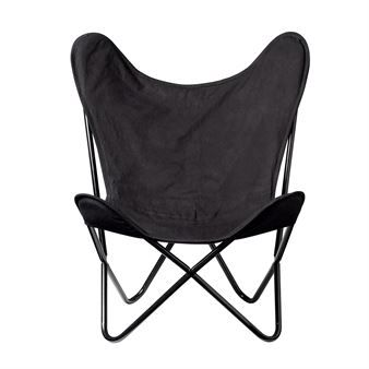 Den snygga Butterfly stol från Bloomingville har en klassisk och tidlös design som aldrig blir omodern. Den är lätt att placera och passar både i vardagsrummet, sovrummet eller kontoret. Butterfly är väldigt bekväm och när du har sjunkit ner i den kommer du aldrig att vilja gå upp! Piffa till den med snygga kuddar eller ett fårskinn från Bloomingville!