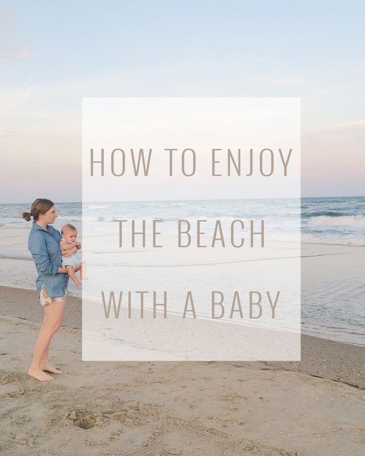 We just got home from our first vacation as a family of three to the  beaches of North Carolina and Florida. Vacationing with a little one made  our trip even more memorable this year. Babies at the beach may be the  cutest thing ever! Below are some of the tips we learned that helped us  enjoy our time in the sun and sand with Brody in tow.   There is no such thing as too much sun protection  Fair skin and strong sun rays are typically a recipe for trouble. Brody's  soft baby skin getting…
