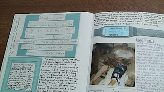 """such a cute idea for after you're married, start a """"love book""""...put notes you write to each other inside <3"""