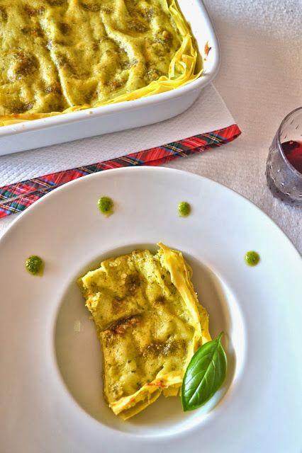 Cucina di Barbara: food blog: Ricetta lasagne al pesto con fagiolini e patate