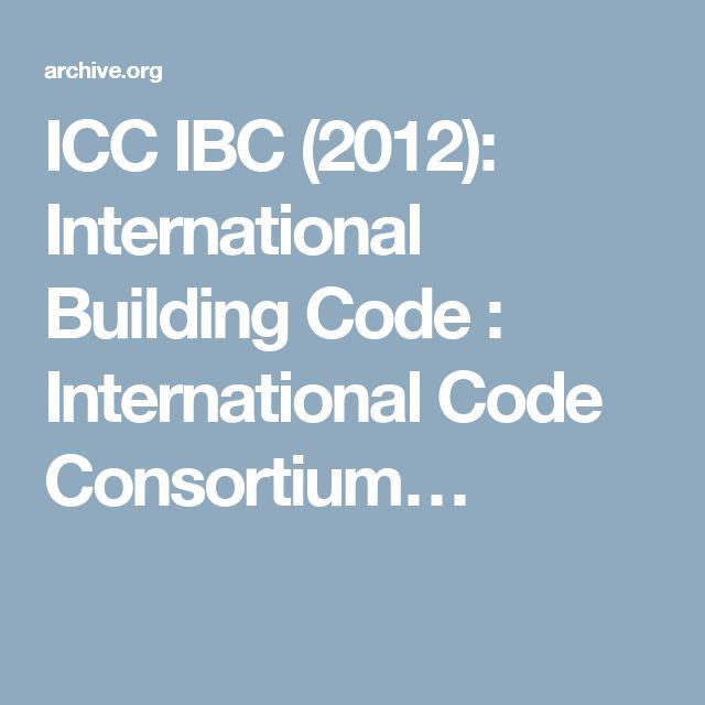 ibc code 2012 pdf free