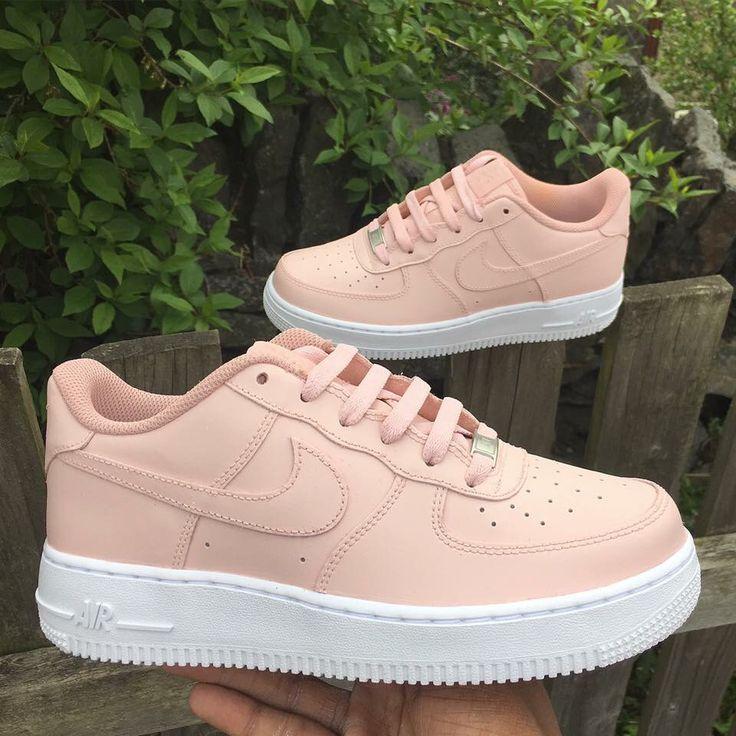 sports shoes db21e a34e0 light peach custom nike air max